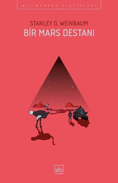 Bir Mars Destanı - Stanley G. Weinbaum kitap kapağı görseli.