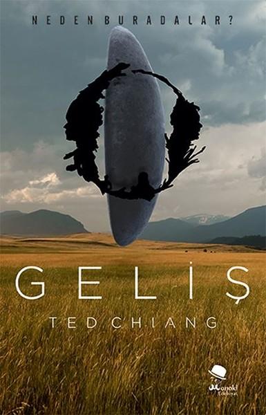 Geliş – Ted Chiang kitap kapağı görseli.