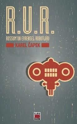 R. U. R. – Karel Capek kitap kapağı görseli