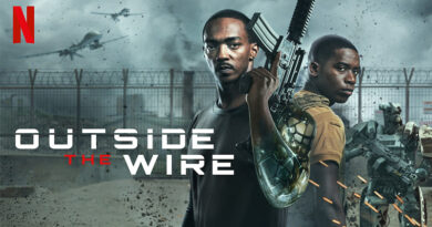 Outside The Wire için kötü bir film diyemem çünkü çok kötü bir film. Keşke Dünya Bilimkurgu Derneği olsa ve bu filmi tür olarak kabul etmese diyeceğiniz kadar kötü.