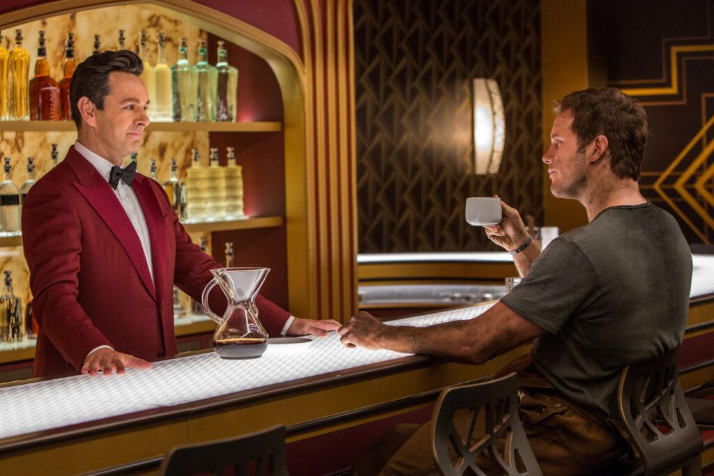 the passengers bartender